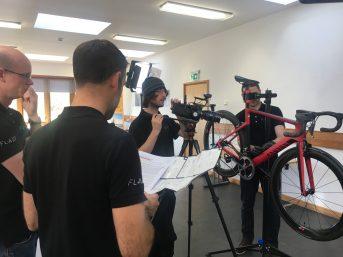 Behind the Scenes – Video Shoot