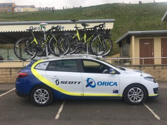 Orica-Scott TDY Team Car Experience