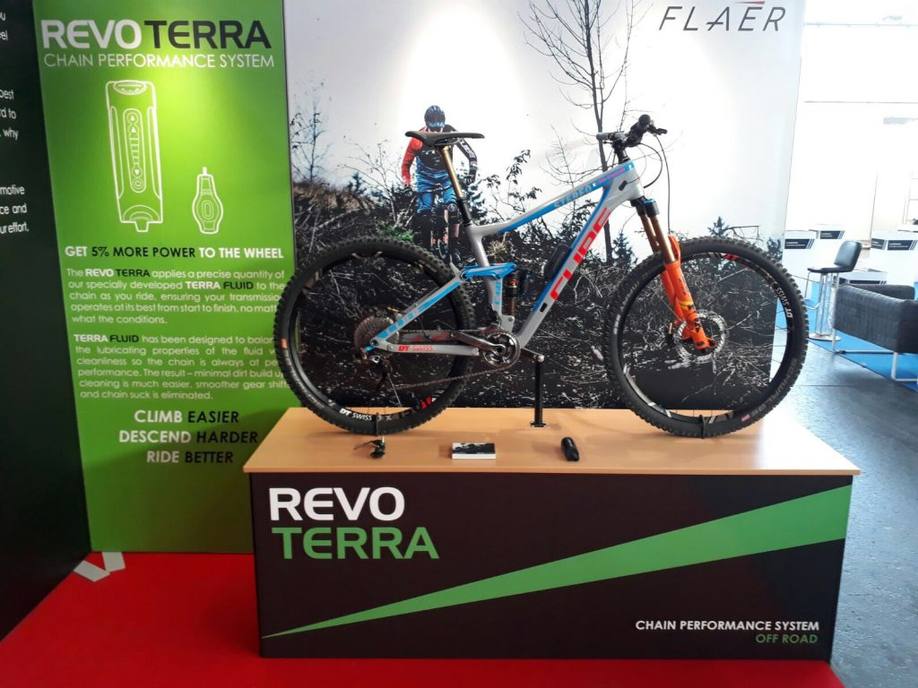 Revo Terra on Cube Stereo at Eurobike