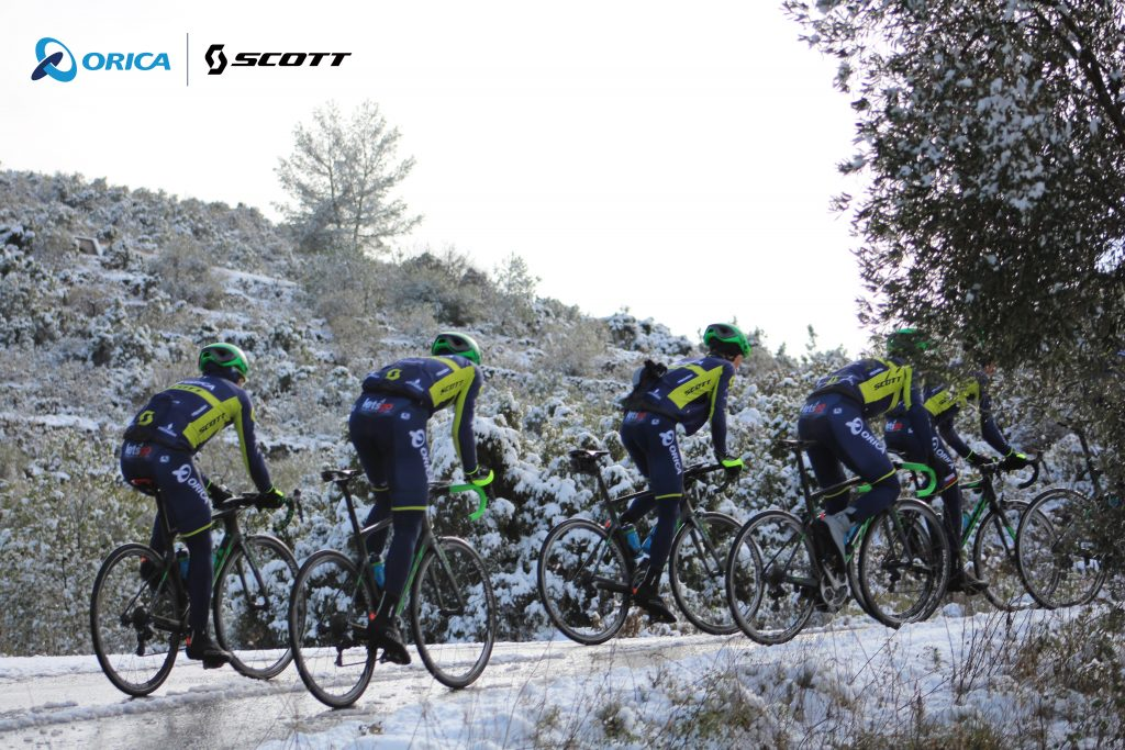 Flaér Official Technical Partners Orica-Scott