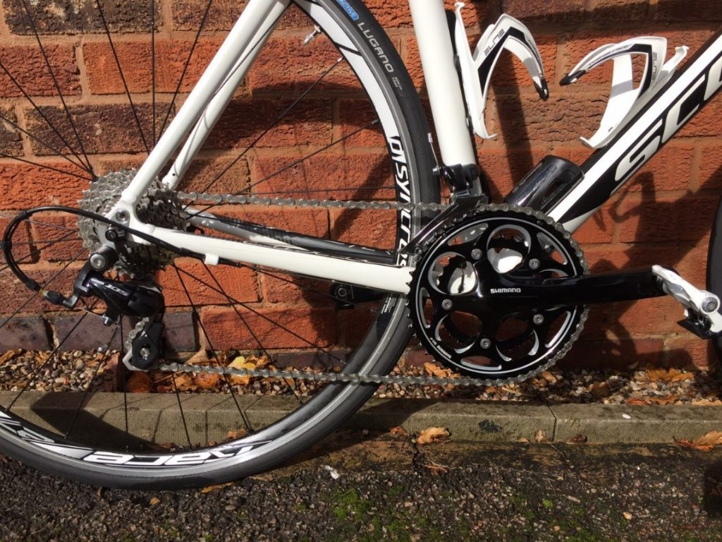 Triathlon TT bike with Revo Via